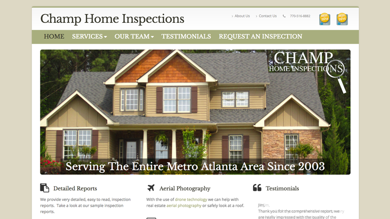 Champ Home Inspections